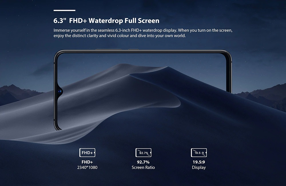 UMIDIGI S3 Pro pantalla
