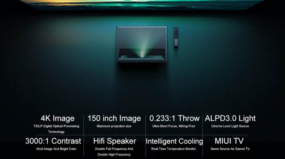 Xiaomi Mijia 4K Laser Projector: Conectividad