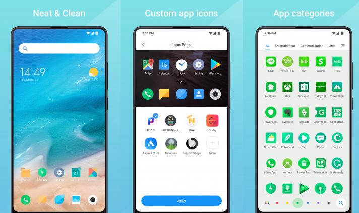Xiaomi aplicación funcion