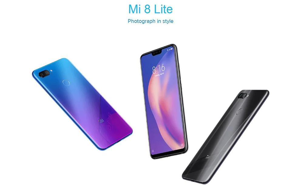 ¡Obtén al gran Xiaomi Mi 8 Lite en Gearbest junto con un increíble descuento!