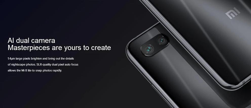 Xiaomi Mi 8 Lite: Nos presenta las más impresionantes cámaras posteriores