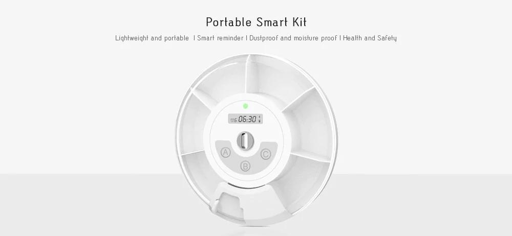 Xiaomi Zapata Smart Pill Box: Funciones y características