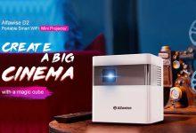 Alfawise D2 Mini proyector destacada