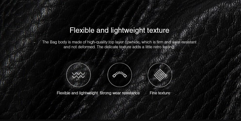 Bolso de Cuero Xiaomi VLLICON diseño 01