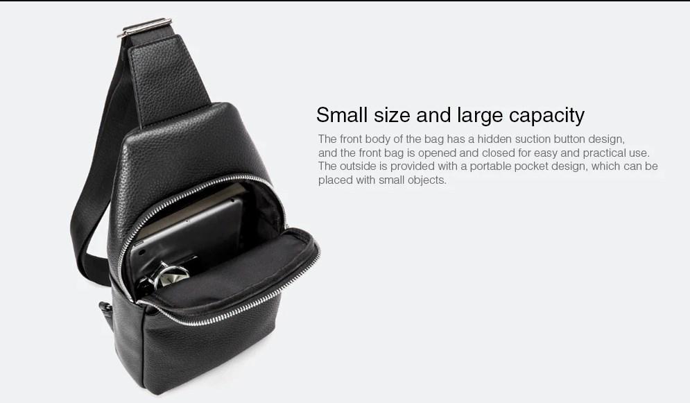 Bolso de Cuero Xiaomi VLLICON diseño 04