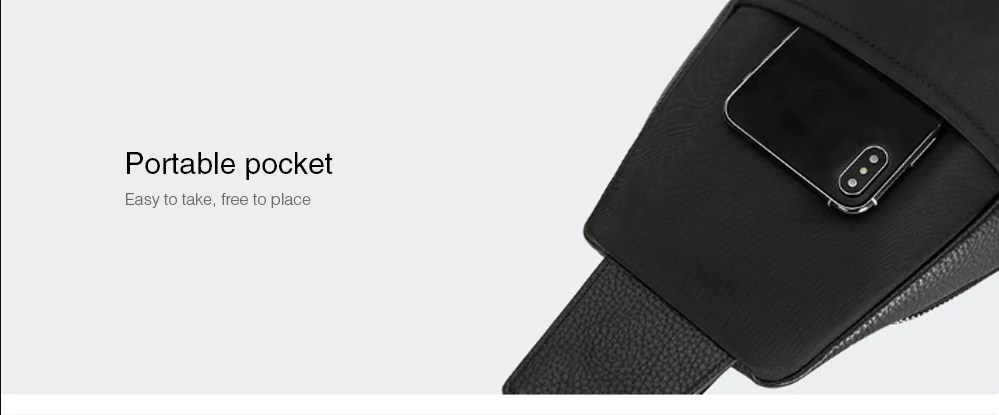 Bolso de Cuero Xiaomi VLLICON diseño 05