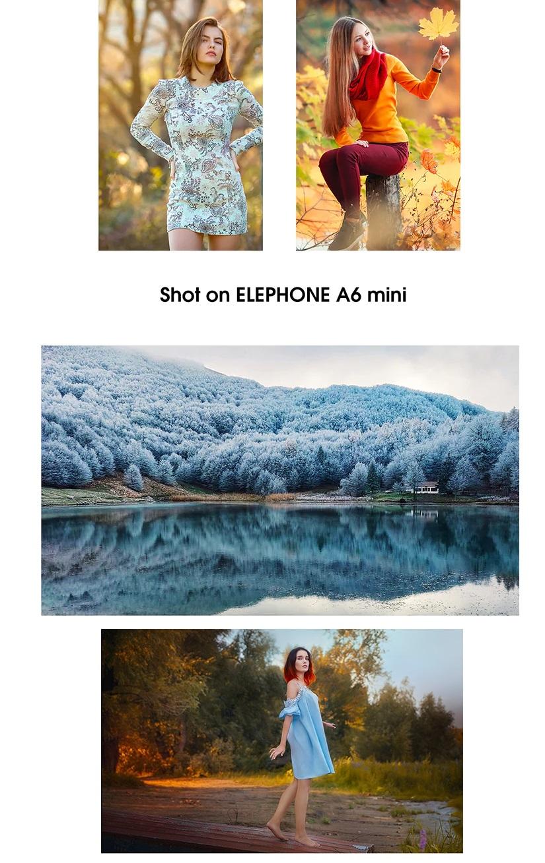 Elephone A6 Mini Análisis cámaras fotos