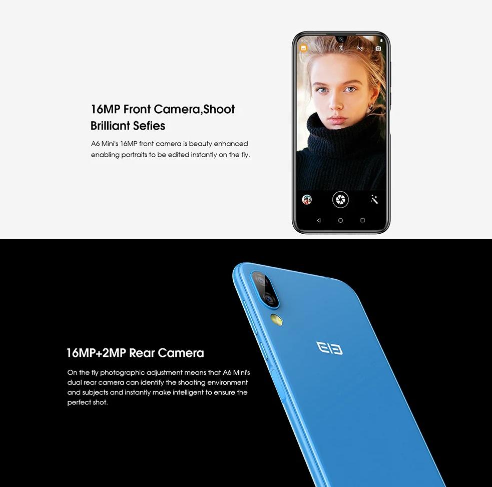 Elephone A6 Mini Análisis cámaras