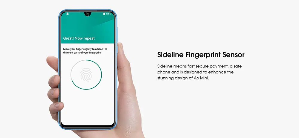 Elephone A6 Mini Análisis seguridad
