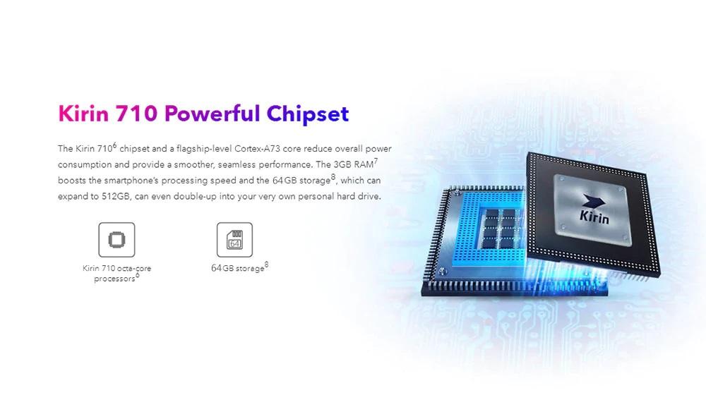 Honor 10 Lite Análisis procesador