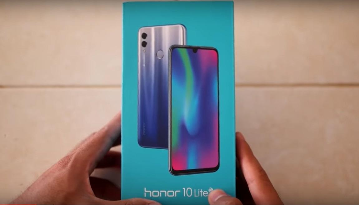 Honor 10 Lite Análisis caja