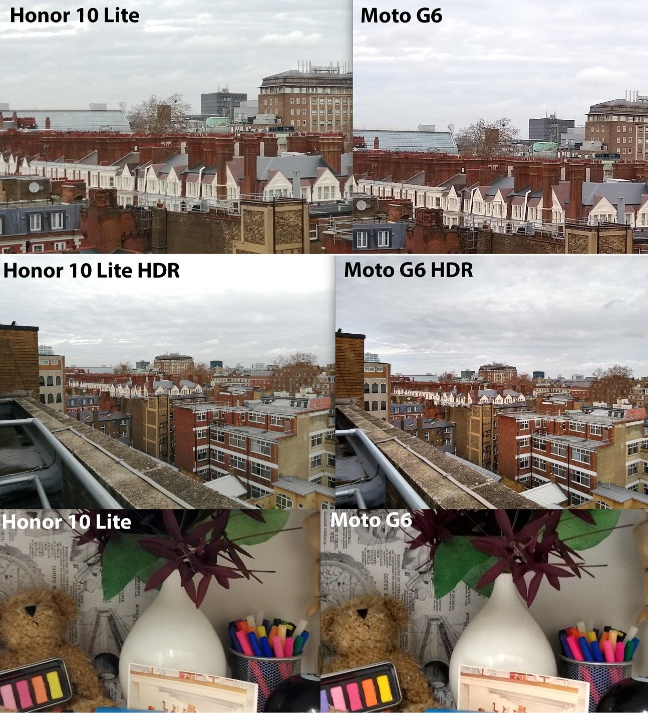 Honor 10 Lite Análisis cámara comparación