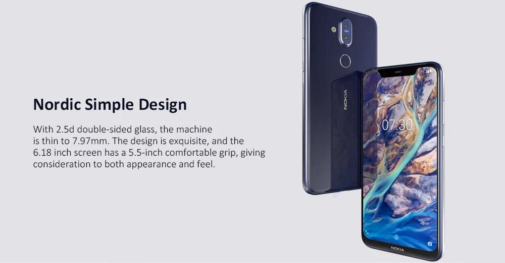 Nokia X7 diseño 6.18 in