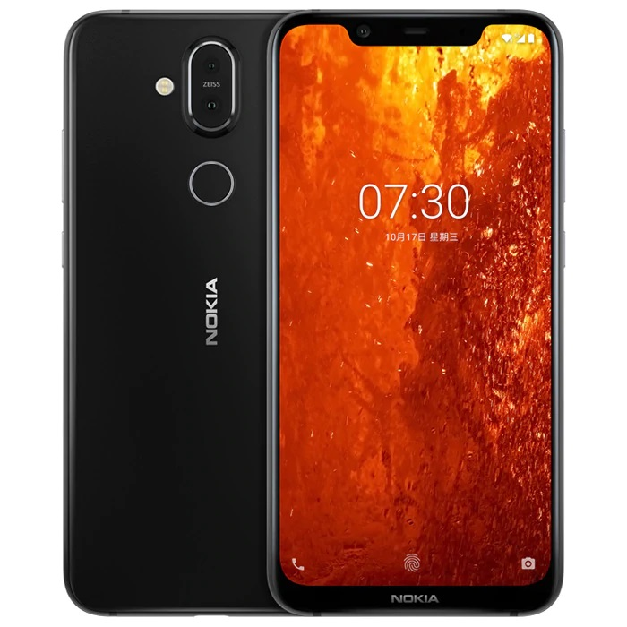 Nokia X7 diseño