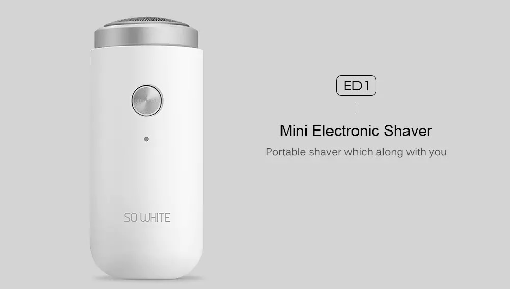 Xiaomi ED1 Mini Electric Shaver destacada