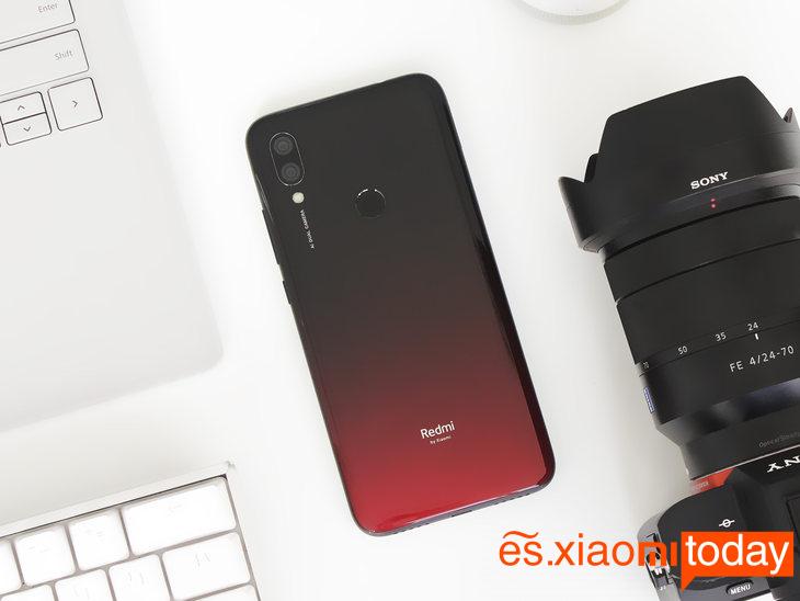 Xiaomi Redmi 7 diseño 01