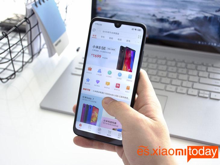 Xiaomi Redmi 7 diseño 03