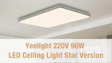 Xiaomi Yeelight LED Ceilng: Diseño