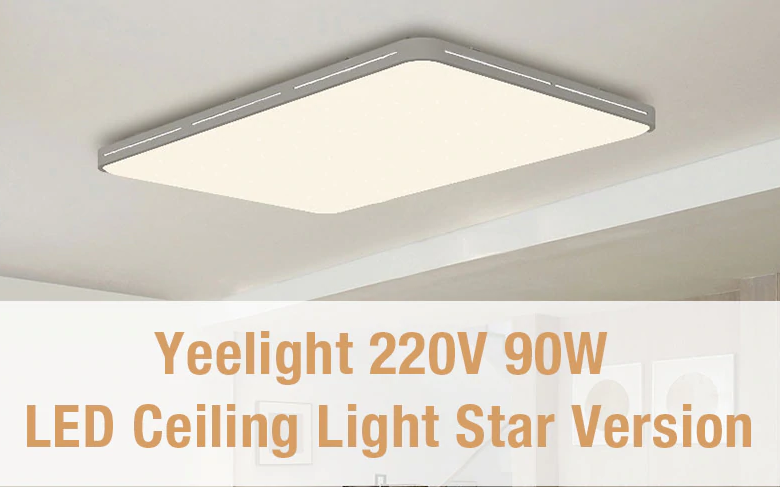 Xiaomi Yeelight LED Ceilng: Diseño