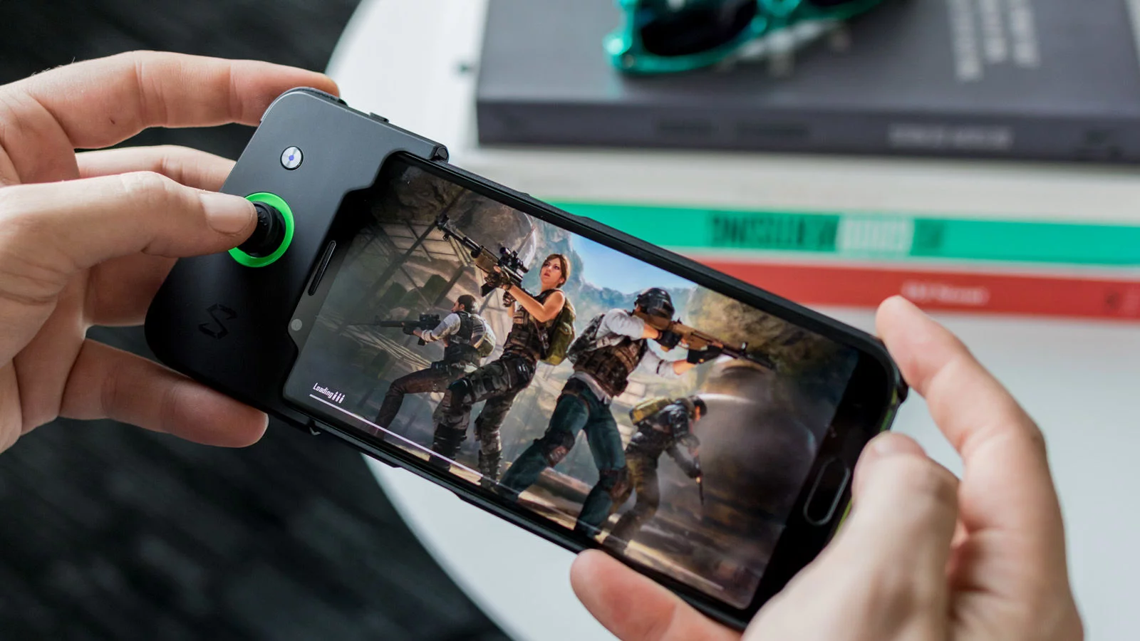 Xiaomi Black Shark 2: Controles