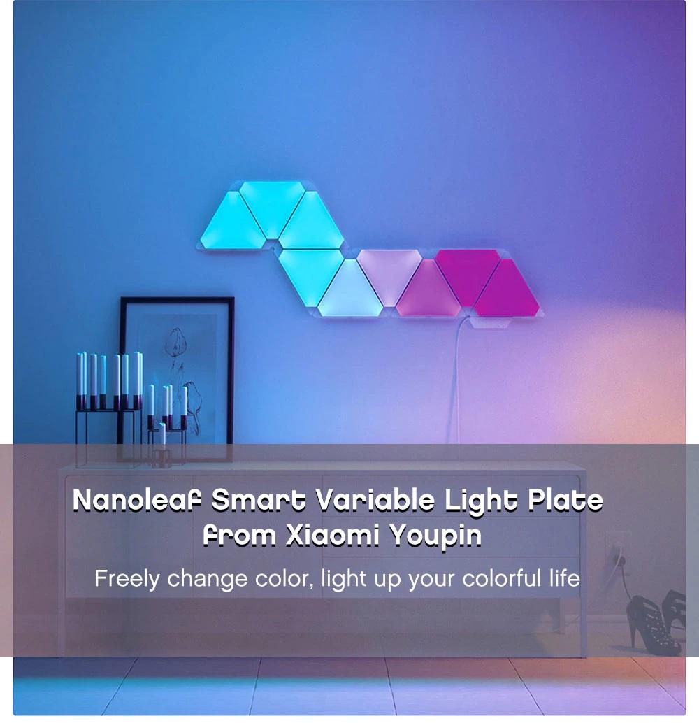 paneles de iluminación Xiaomi Nanoleaf personal
