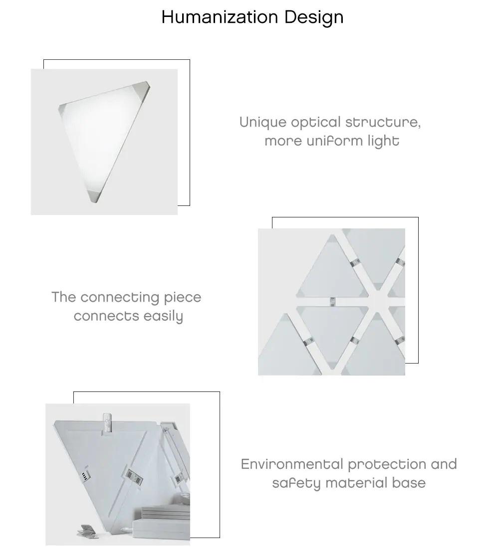 paneles de iluminación Xiaomi Nanoleaf diseño