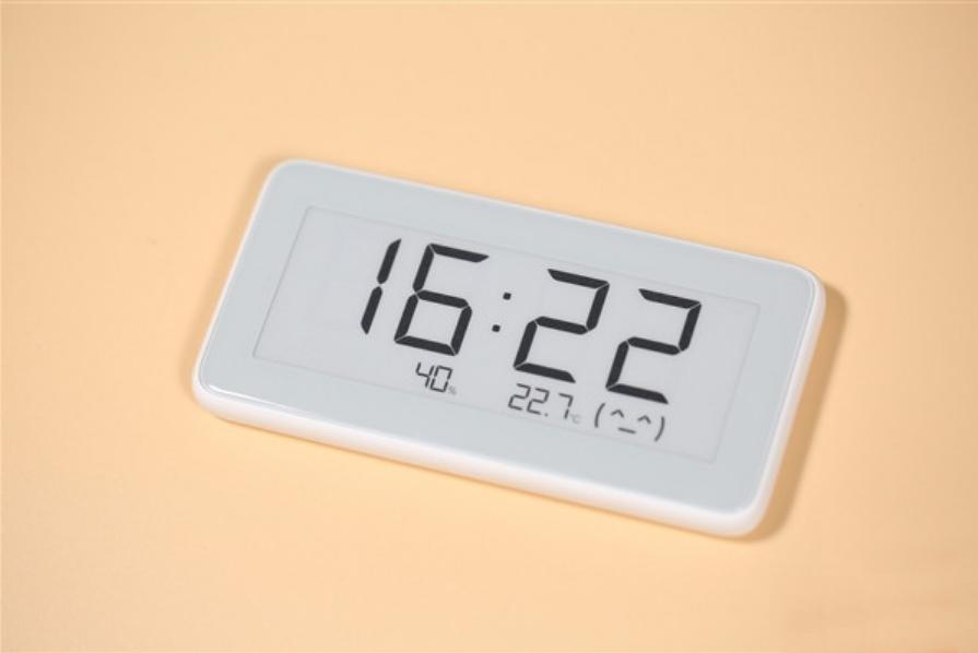 Fue presentado el nuevo reloj despertador Xiaomi Mijia con pantalla de tinta electrónica