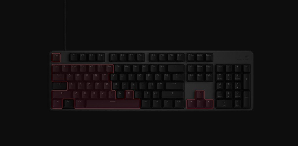 Oferta Xiaomi Gaming Keyboard