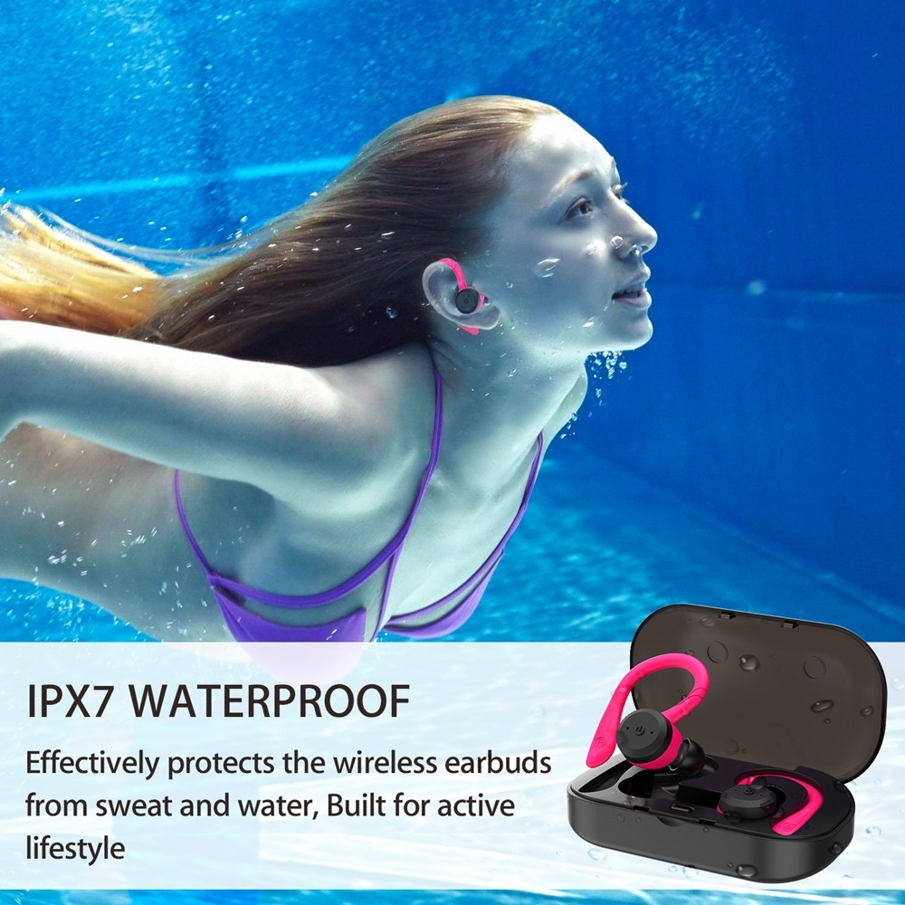 IP7 Waterproof Headphones característica