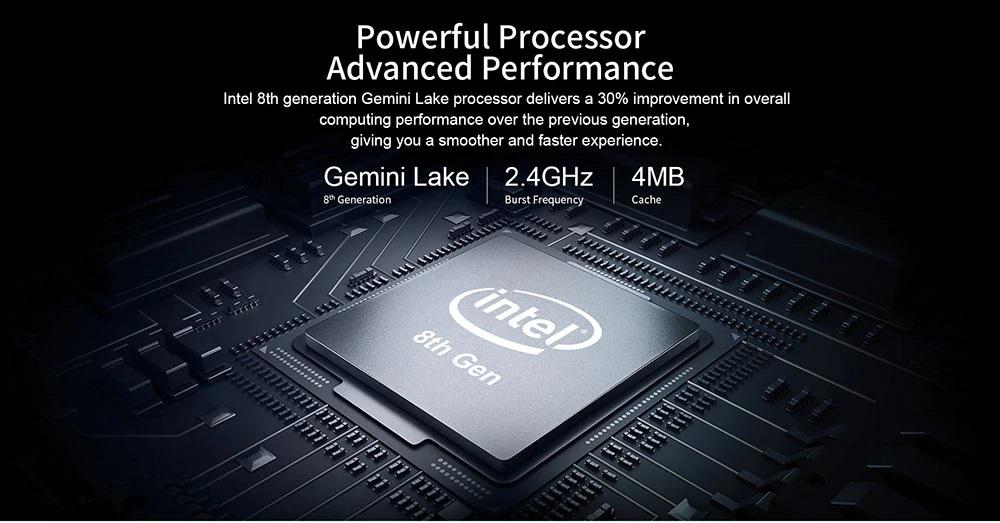 Teclast F15 procesador