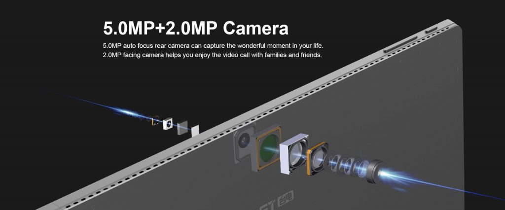 Teclast X4 cámara