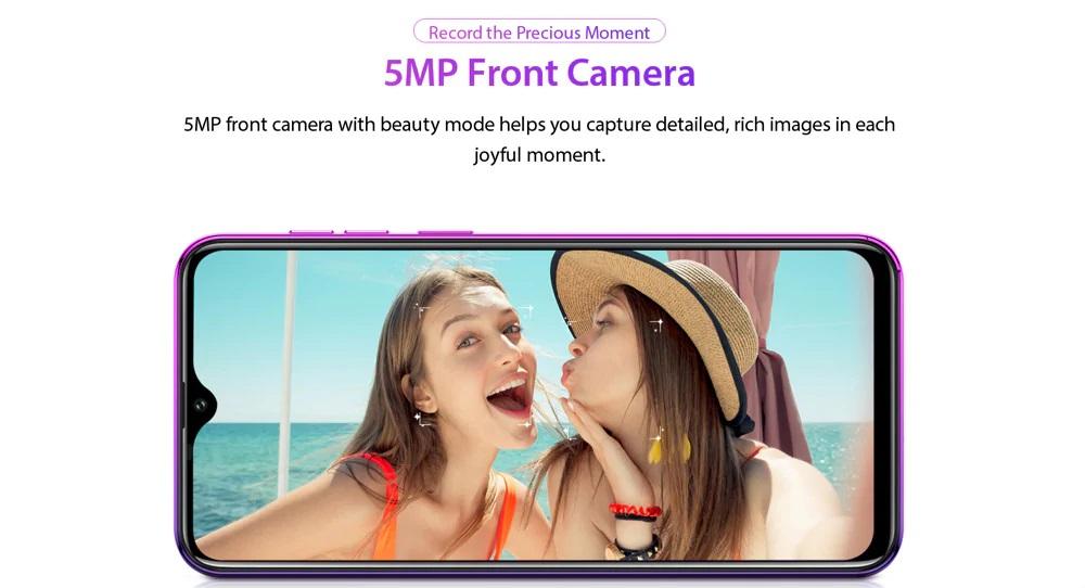 Ulefone Note 7 cámara selfie