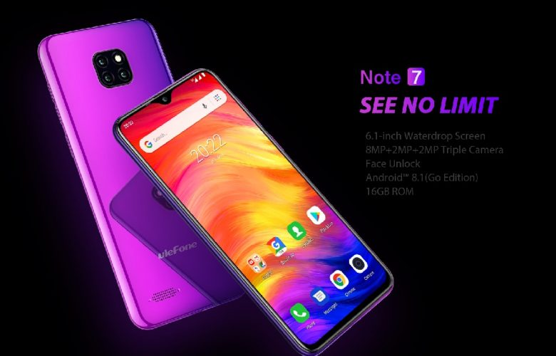 Ulefone Note 7 destacada