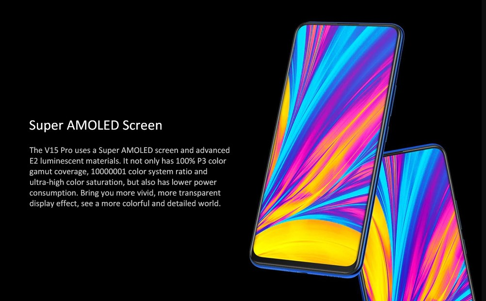 Vivo V15 Pro pantalla