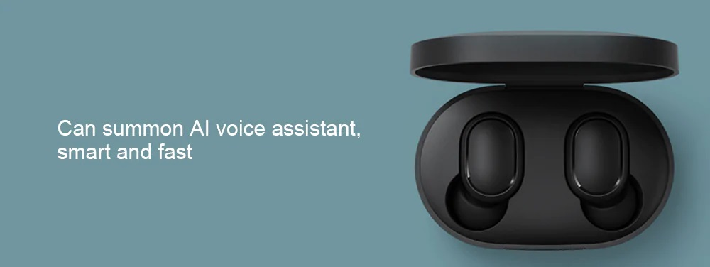 Xiaomi Redmi AirDots características asistente de voz