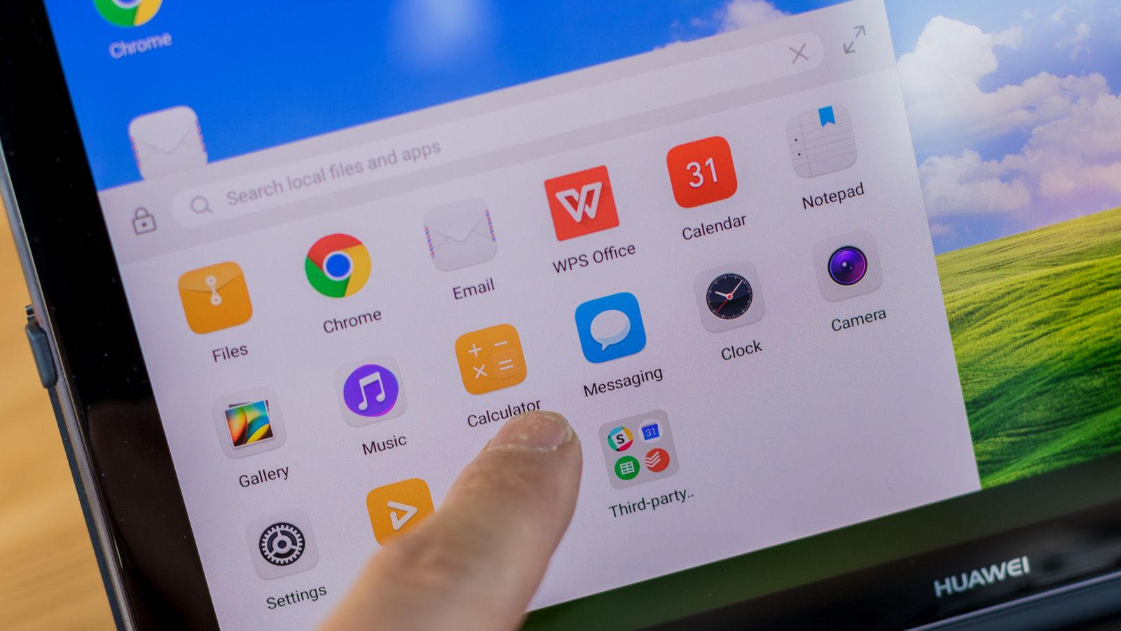 Huawei M5 Pro: Software