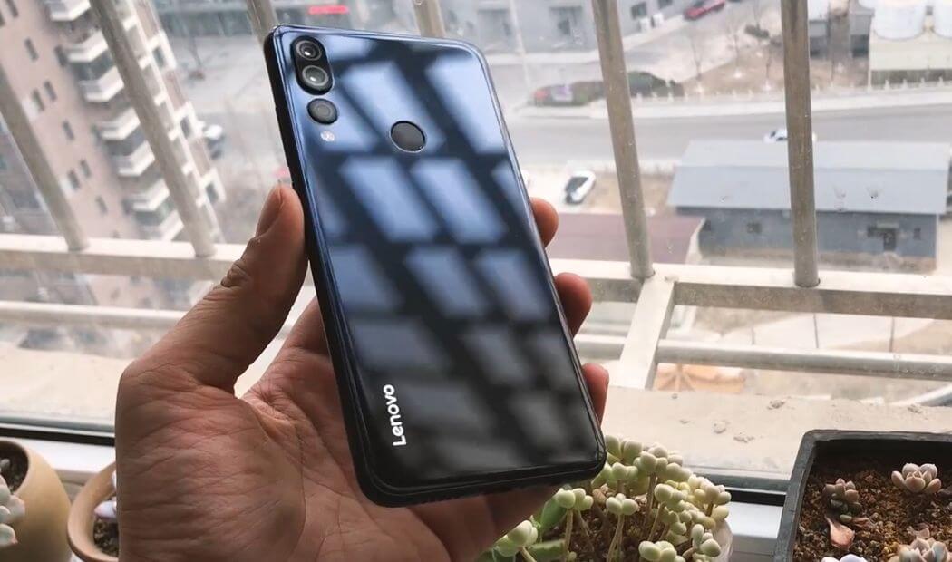 Lenovo Z5s: Diseño y construcción