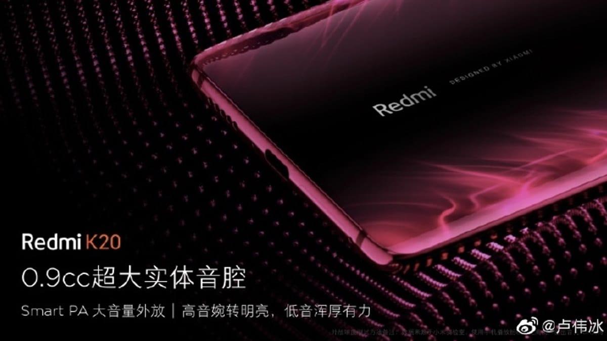 Especificaciones internas del Redmi K20