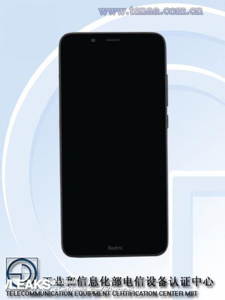 Imágenes mostrando el diseño del supuesto Redmi 7A aparecieron en TENAA
