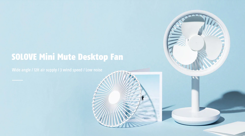 Xiaomi Solove Mini Desktop Fan