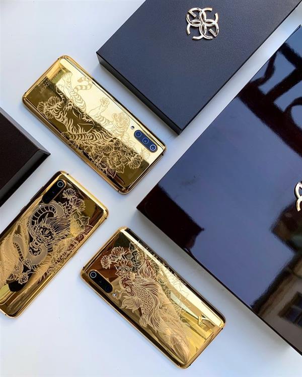 El Xiaomi Mi 9 obtendrá una versión especial hecha de oro puro de 24K