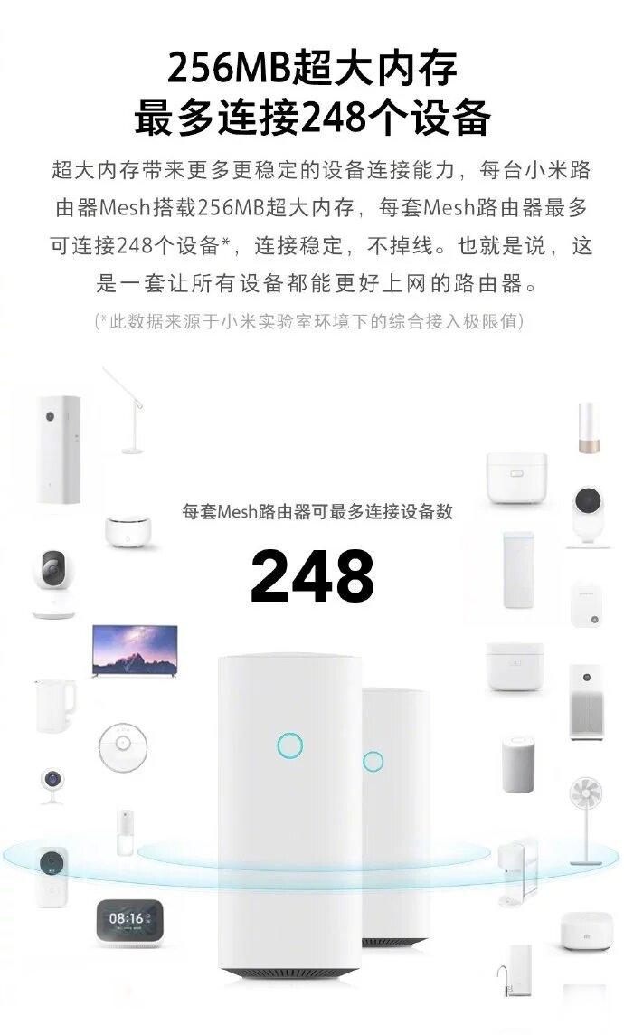 El Xiaomi MiWiFi Mesh Router será lanzado el 13 de mayo