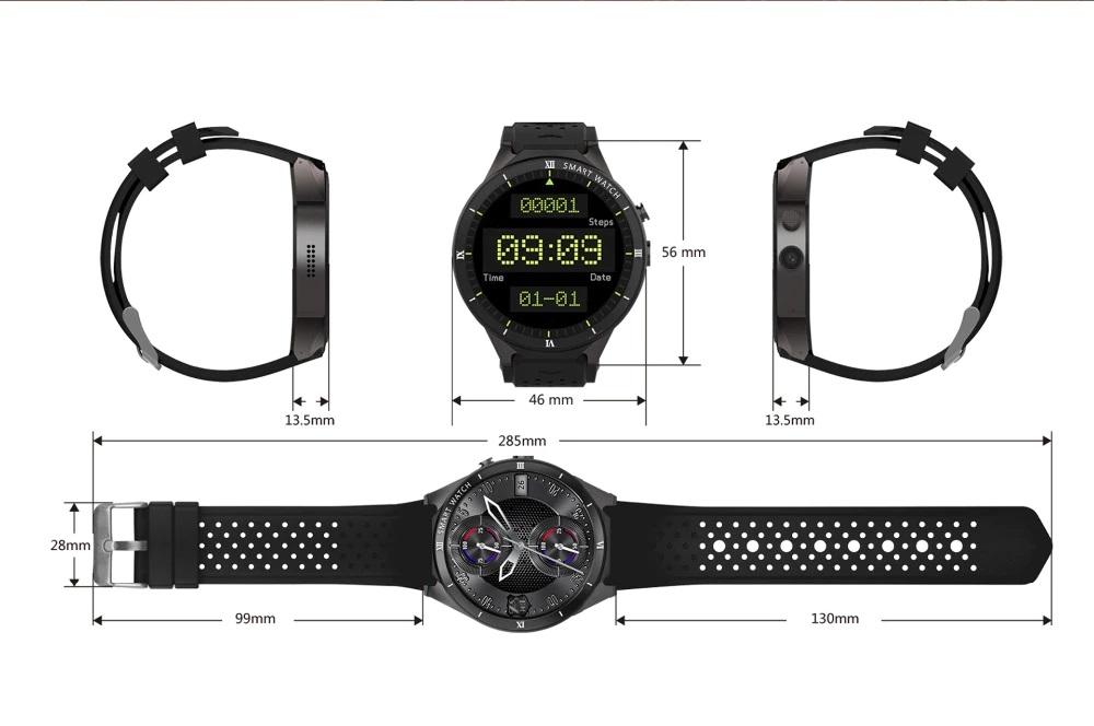 Alfawise KW88 Pro diseño medidas