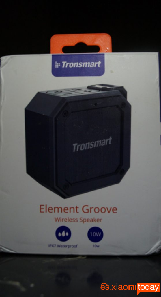 Element Groove caja cara frontal