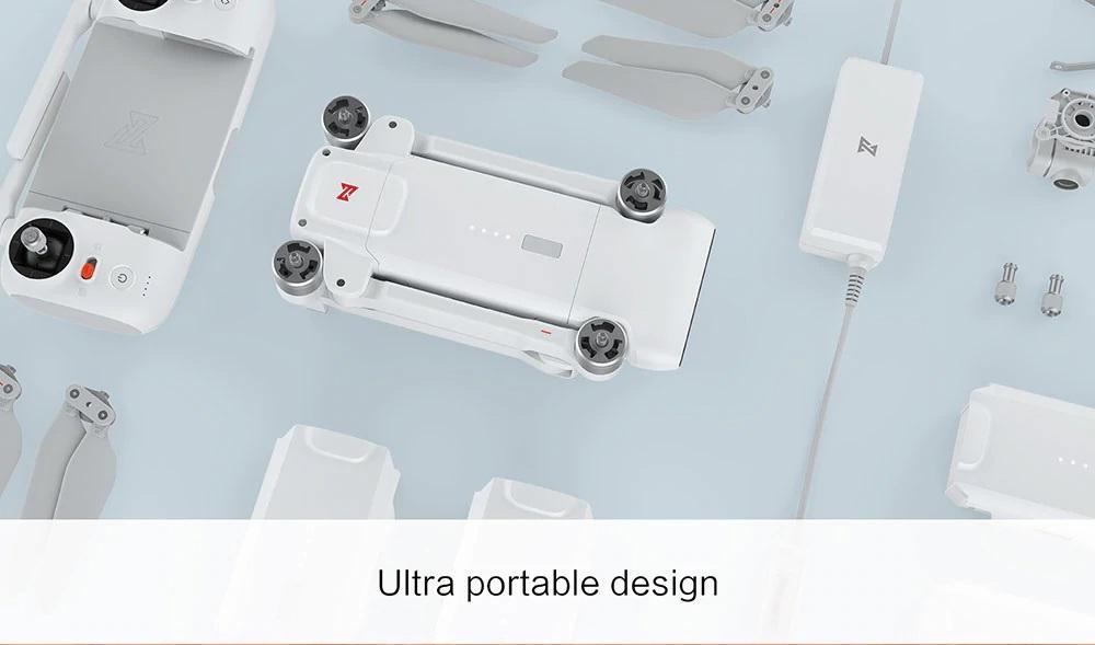 FIMI X8 SE diseño portable