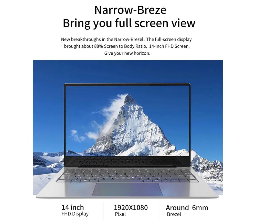 Jumper EZBook X4 Pro pantalla