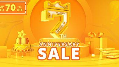 Promoción por el 7mo aniversario de Geekbuying