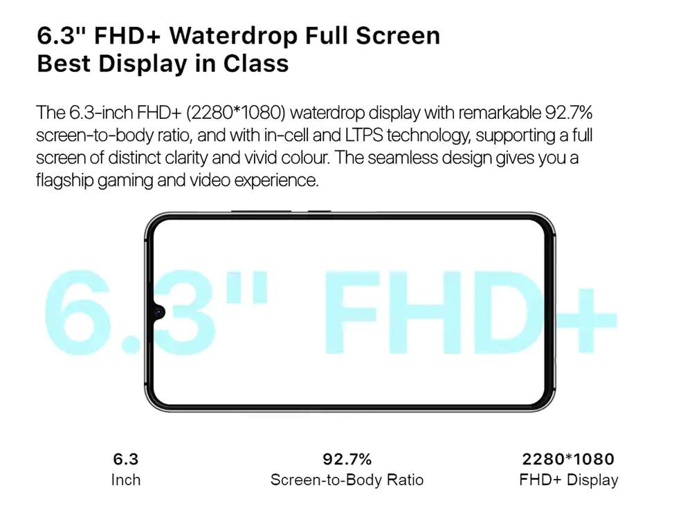 UMIDIGI A5 Pro pantalla