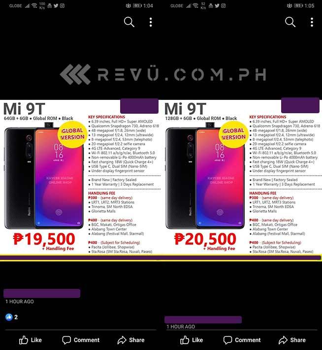 Xiaomi Mi 9T Filipinas 01