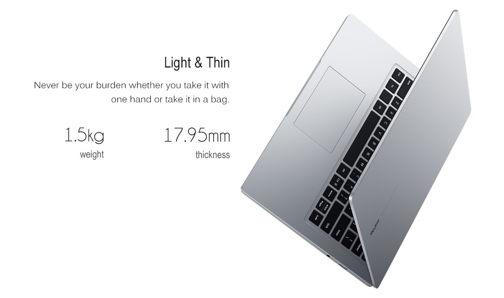 Xiaomi RedmiBook Laptop design